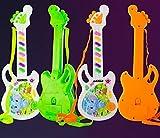 In the Dream Liebling des kleinen Babys Baby Mini Elektronische Gitarre Spielzeug Kinder Musical Spielzeug Kleinkind Tier Gitarre (Gelegentliche Farbe) Spielzeug austauschen