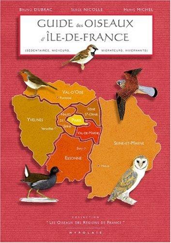 Guide des oiseaux d'Ile-de-France