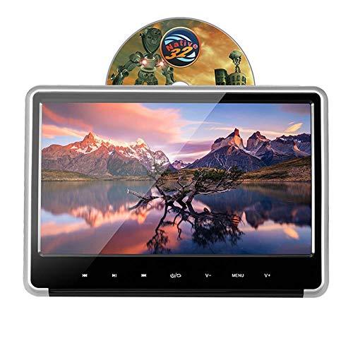 Z-SGYX Auto DVD-Player 11,6 Zoll 1080 P HD Kopfstütze DVD-Player Monitor Auto Rear Seat Entertainment System für Lange Auto Reise mit USB SD HDMI AV-Spiel und FM-Transmitter Rear-seat-dvd-player