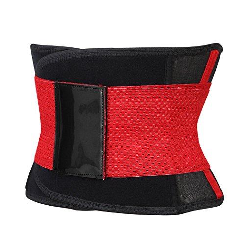 Women's Waist Trainer Belt - Body Shaper Belt For An Hourglass Shaper Red