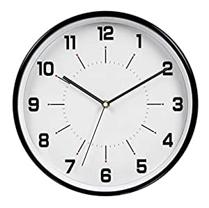 HITO™ 12 Inches Silent Non-ticking Wall Clock w/ Metal ...