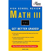 High School Math III Review (Review Smart) by David Kahn (1998-03-17)