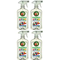 Preisvergleich für (4 PACK) - Earth Friendly Products - Nursery & Toy Cleaner | 500ml | 4 PACK BUNDLE by Earth Friendly