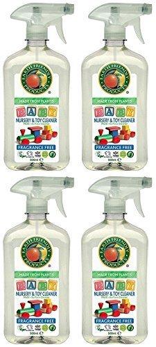 (4 PACK) - Earth Friendly Products - Nursery & Toy Cleaner | 500ml | 4 PACK BUNDLE by Earth Friendly preisvergleich