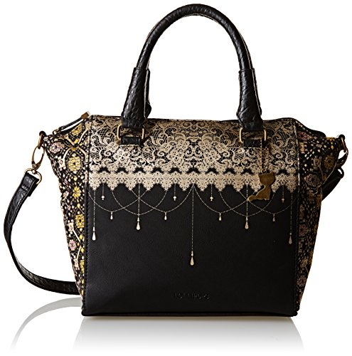 Lollipops Ysis 22289, Borsa a spalla donna , Nero (Black (nero)), Taille Unique