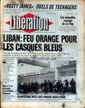 Duel Pour Un Roi - LIBERATION [No 852] du 15/02/1984 - RUSTY