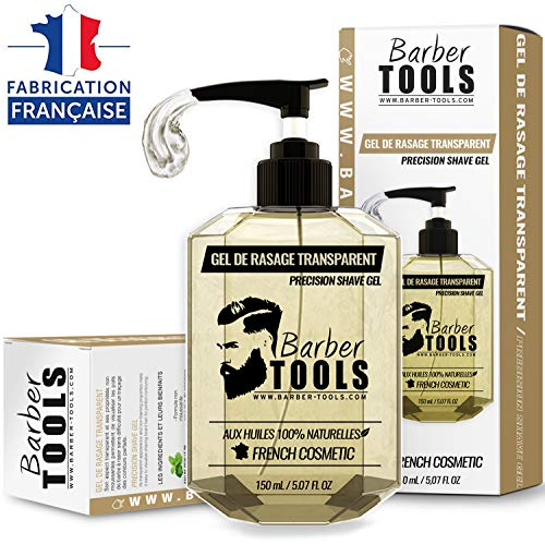 ✮ BARBER TOOLS ✮ Gel afeitado transparente 150