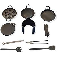 Nakshathra Miniature Kitchen Set for Kids Pure Iron