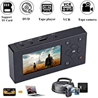 """ASHATA Video Recorder,Portable 3"""" TFT Screen AV Recorder,Audio and Video Recorder Converter Video Capture Recording Player With Real-time Video Watching Support SD Card"""