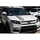 AUTO CONCEPT Tape Chrome OE Type Front Grill - 4Pcs (Breeza_OE_Grill_4Pcs)