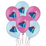 "6 Latex Ballons ""Die Eiskönigin- Völlig unverfroren"" 28cm"