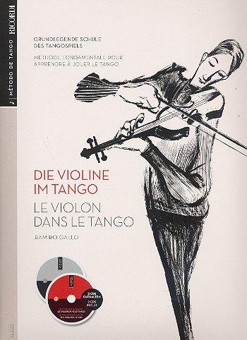 Die Violine im Tango (+2 CD\'s) (dt/frz)