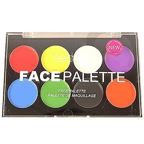 Technic White Foundation Sahne Gesicht Paint or Pulver Halloween Goth MakeUP (Make-up Technic)