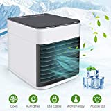 Om Anvay Mini Portable Air Cooler Fan Arctic Air Personal Space Cooler The Quick & Easy Way to Cool Any Space Air Conditioner Device Home