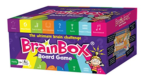 BrainBox Board Game - The ultimate brain challenge