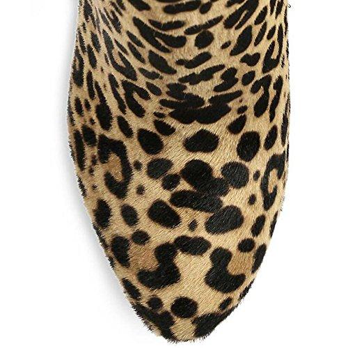 Chaussures Jauges L YC Femme Bottes À Bottes Femme Talons Soirées Chaussures Lèvres yellow Bottes qvaqF