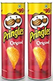 #10: Pringles Potato Chips Original 110 gm ( Pack of 2 )