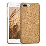 kwmobile Apple iPhone 7 Plus / 8 Plus Hülle - Handyhülle für Apple iPhone 7 Plus / 8 Plus - Handy Case Kork Cover Schutzhülle