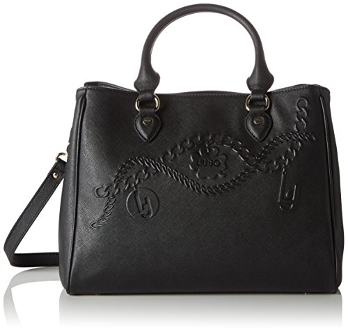 LIU JO CORALLO BOSTON BAG N66227E0140-22222 Black