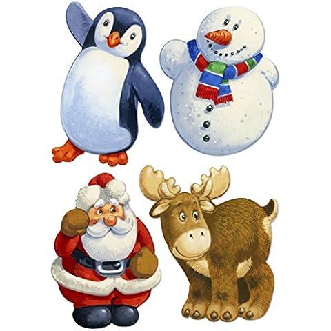 WENTWORTH in legno–Puzzle Natale Amici - Whimsy Snowman