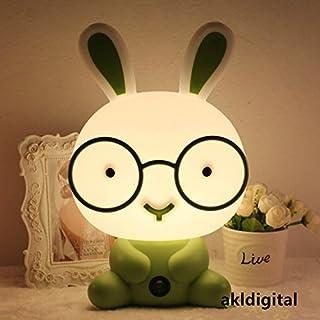 akldigital cute lovely bedroom bedside lamp for children's room as gift