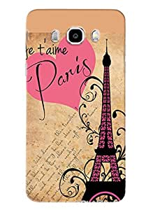 Blue Throat Good Times In Paris Beautifully Design Printed Designer Back Cover For Samsung Galaxy J5 2016