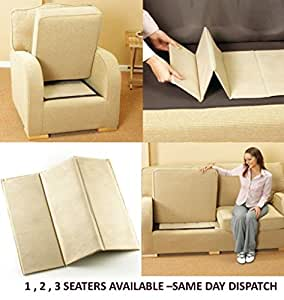 Ayrah  DELUXE SEAT REJUVENATOR BOARDS 1-2-3 SEATER SAGGING SOFA SEAT SUPPORT (1 Seater (45 x 48 cm))