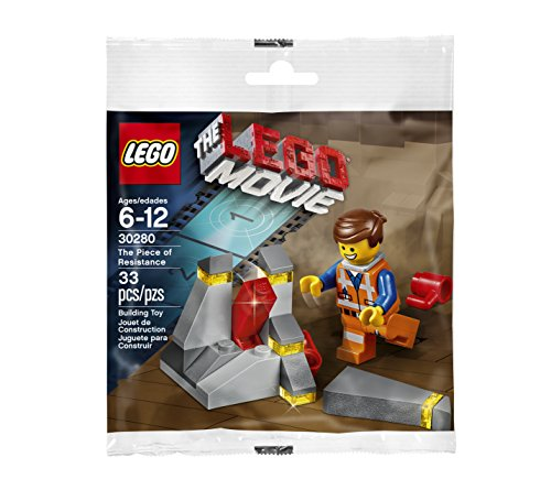LEGO Movie 30280 The Piece of Resistance Exklusiv Set (Lego Movie Emmet)