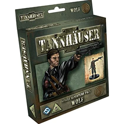 Tannhauser: Wolf Single Figure Pack
