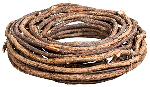 Rayher 65077000 Deko-Kranz, Natur, Ø 30 cm