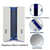 FLORATA Ultrasonic Pest Repeller-Electric Smart Silent Home Safe- Ultrasound & Electronic Kids