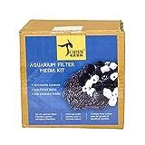#4: Torri Aquarium Filter Media Kit (500g Activated Carbon, 500g Ceramic Rings, 25 Bio Balls)