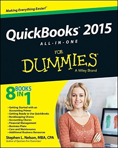 QuickBooks 2015 All-in-One For Dummies 1st edition by Nelson, Stephen L. (2014) Paperback