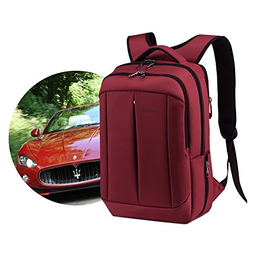 YAAGLE Geschenk Schüler wasserdicht Schultasche Reisetasche Gepäck Schultertasche Rucksack Sporttasche Laptoptasche-burgundy burgundy