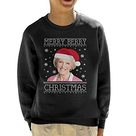 Have A Merry Berry Christmas Knit Kid's