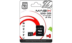 Micro SD Card MAGIX HD Series Class10 V10 + SD Adapter UP to 80MB/s (128GB)
