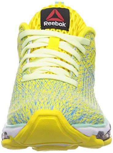 Reebok - Zjet Run, Scarpe da corsa Donna Giallo (Stinger Yellw/Mint Glow/Citrus Glow/Blue Beam)