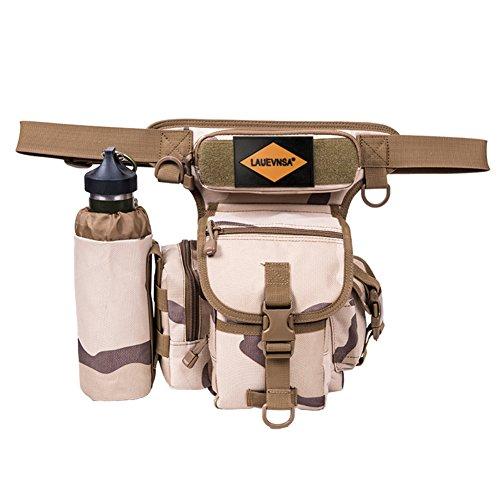 outdoor wasserdicht Bein/Multifunktions-Taschen/Herren casual Bein Tasche/Outdoor-Reiten-Pakete D