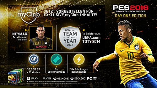 PES 2016 – Day 1 Edition [PlayStation 4] - 2