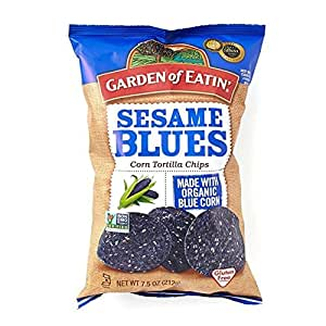Sesame Blue Corn Chips 212g