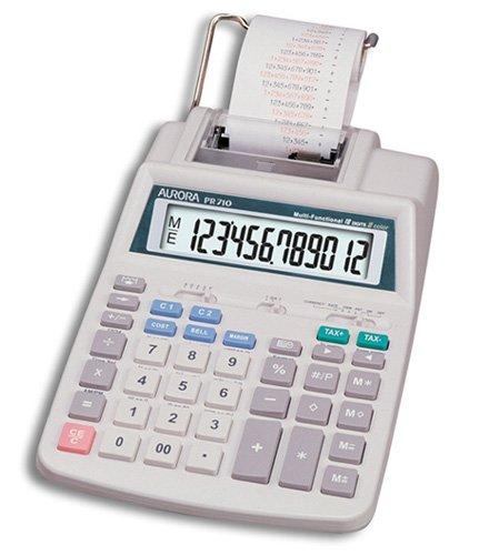 Aurora PR710 Printing Calculator (Two Colour Printing) Test