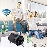 Bluetooth Lautsprecher mit Mikrofon Karaoke Funktion Tragegriff (Kabellos, Akku, USB-Anschluss, Smartphone, PC, Tablet, Radio)