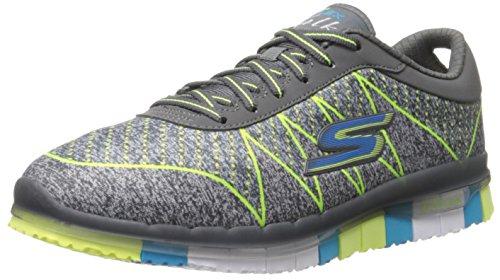 Skechers Go Flex Ability, Sneaker Donna Charcoal/Multi
