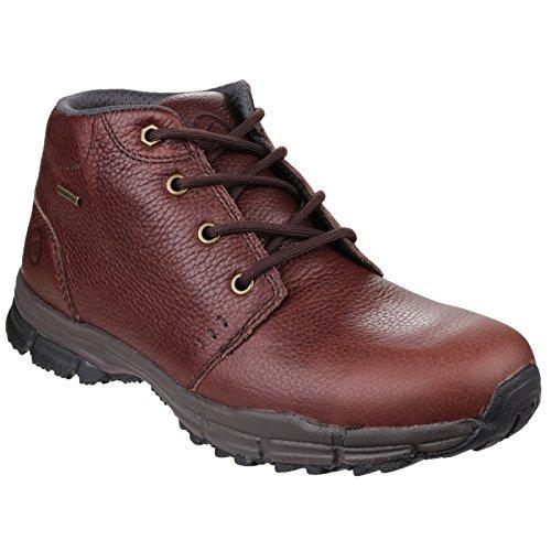 Cotswold Mens Chosen Waterproof Leather Walking Hiking Boots Marron