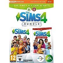 The Sims 4 - Espansione Cani & Gatti (Codice digitale incluso nella confezione) - PC [Bundle] [Importación italiana]