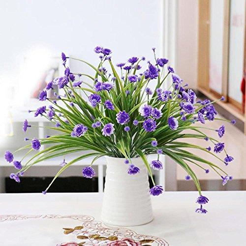 SituMi Fiori artificiali di emulazione di plastica fiore fiori artificiali
