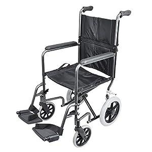 Compact Transport Aluminium Wheelchair