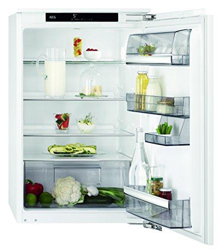 AEG SKE88841AC Kühlschrank / 137 l Einbaukühlschrank / energieeffizienter Kühlschrank ohne Gefrierfach / A+++ (57 kWh/Jahr) / selbstschließende Tür  / Coolmatic für schnelles Kühlen / H: 88 cm / weiß