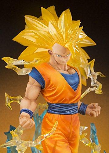 Bandai - Figurine Dragon Ball Z - Son Gokou Super Saiyan 3 Figuarts Zero - 4549660038054 5