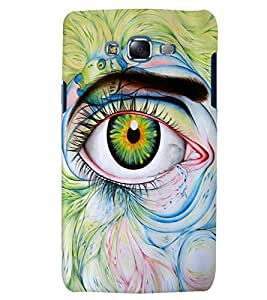 Citydreamz Abstract Eyes Hard Polycarbonate Designer Back Case Cover For Samsung Galaxy A3